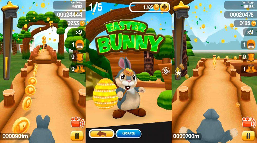 Worksheet. Juegos de conejos de Pascua para mvil
