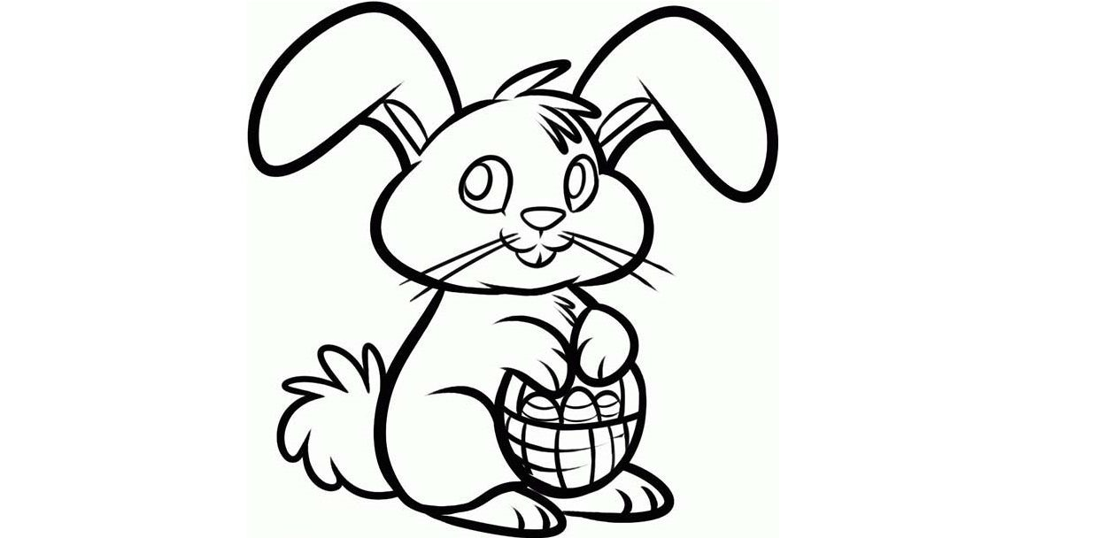Dibujos de conejos de Pascua