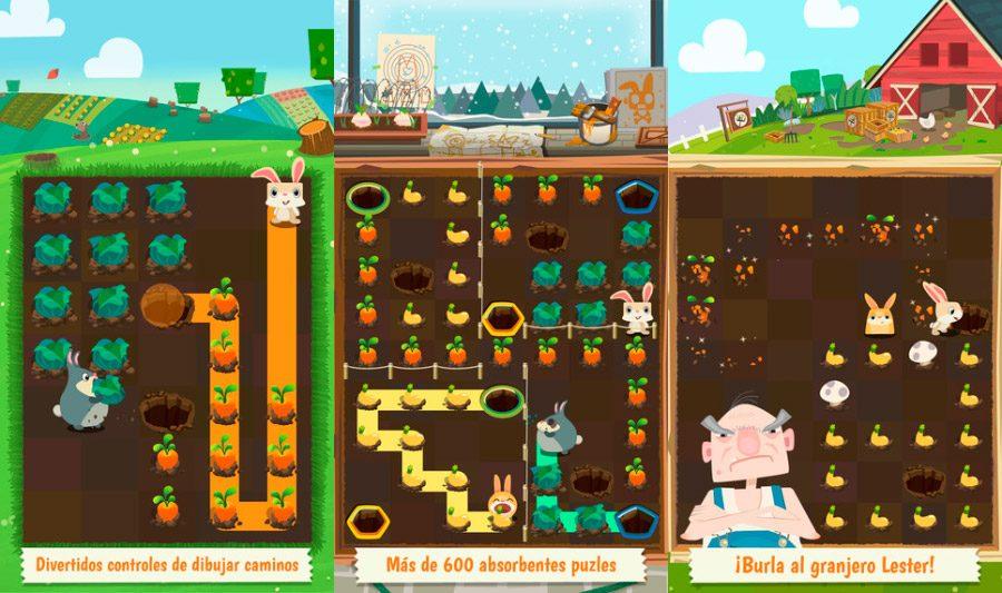 Worksheet. Juegos de conejos para iPhone y iPad